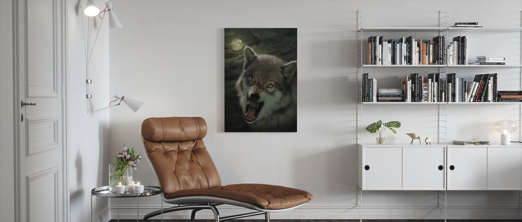 Nightbreed - Canvas print - Living Room
