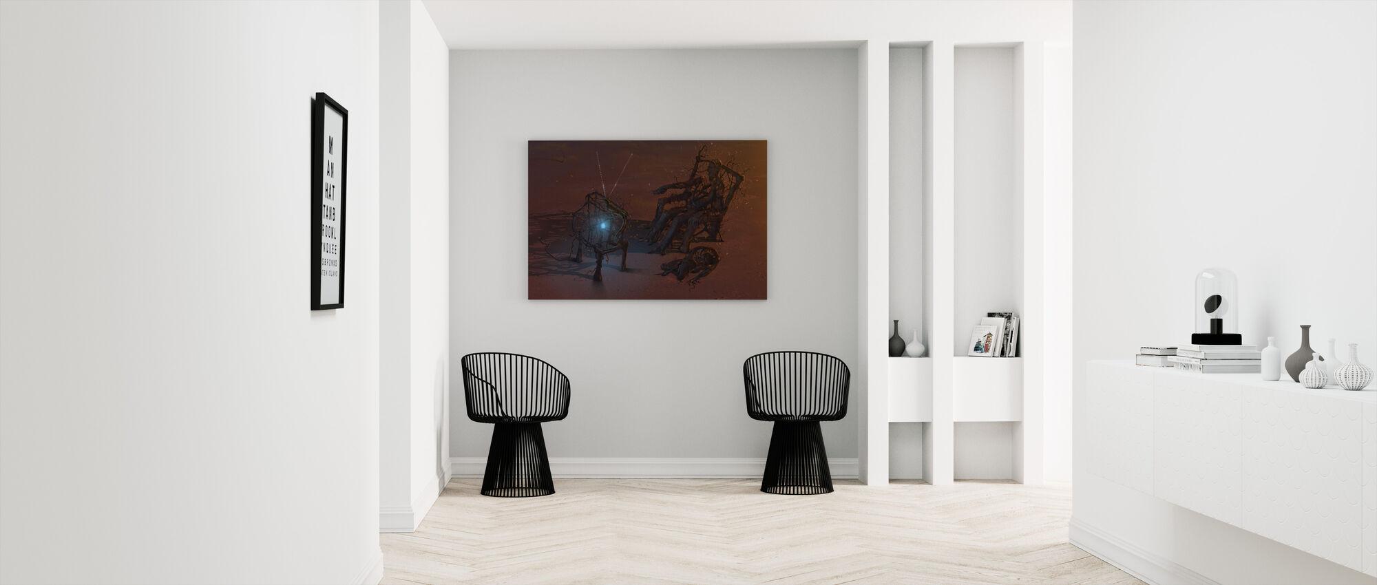 Remote - Canvas print - Hallway