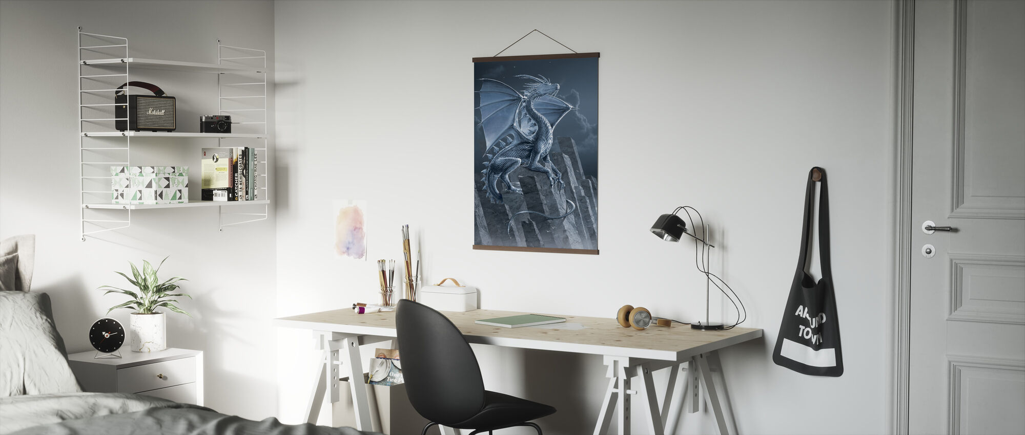 Silver Dragon - Poster - Office