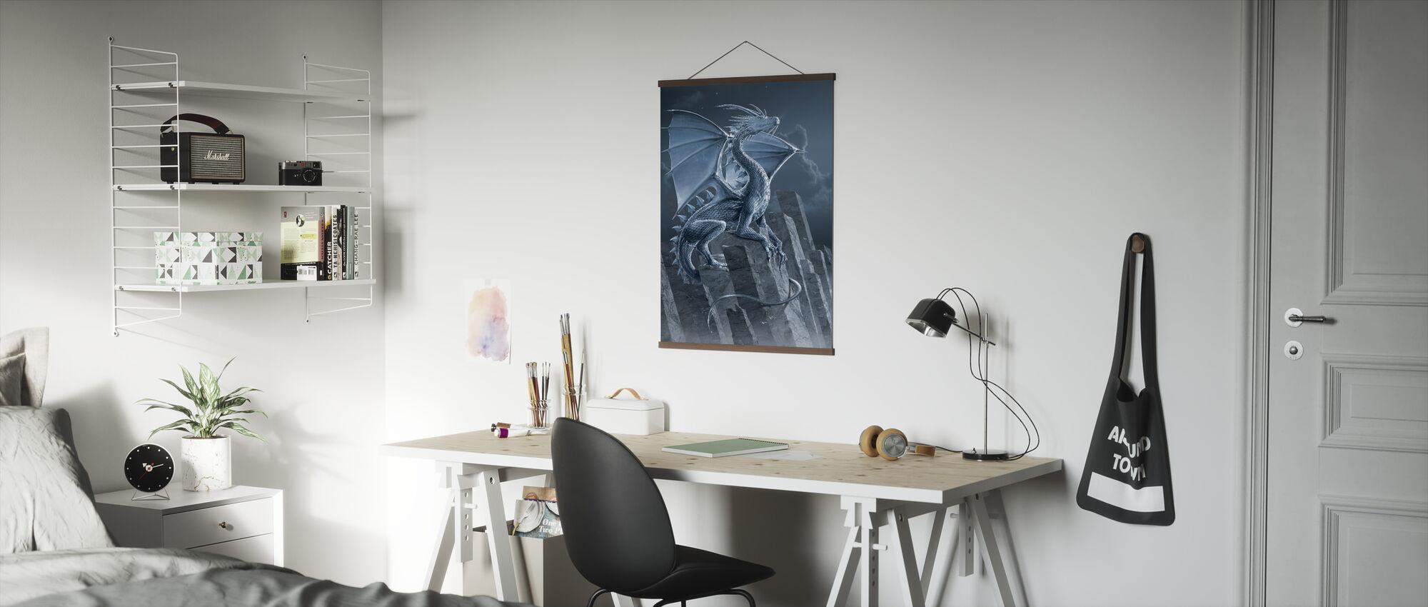 Zilveren Draak - Poster - Kantoor
