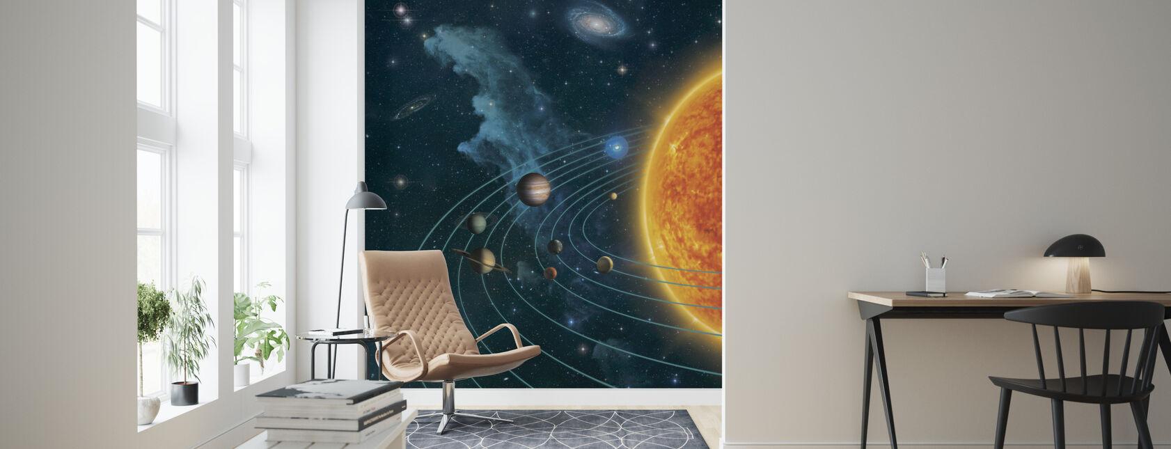 Aurinkokunta - Tapetti - Olohuone