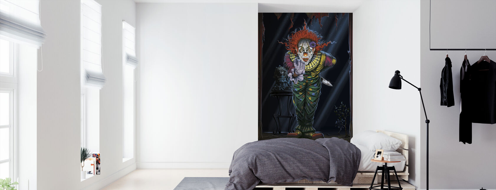 Surprise Clown - Wallpaper - Bedroom