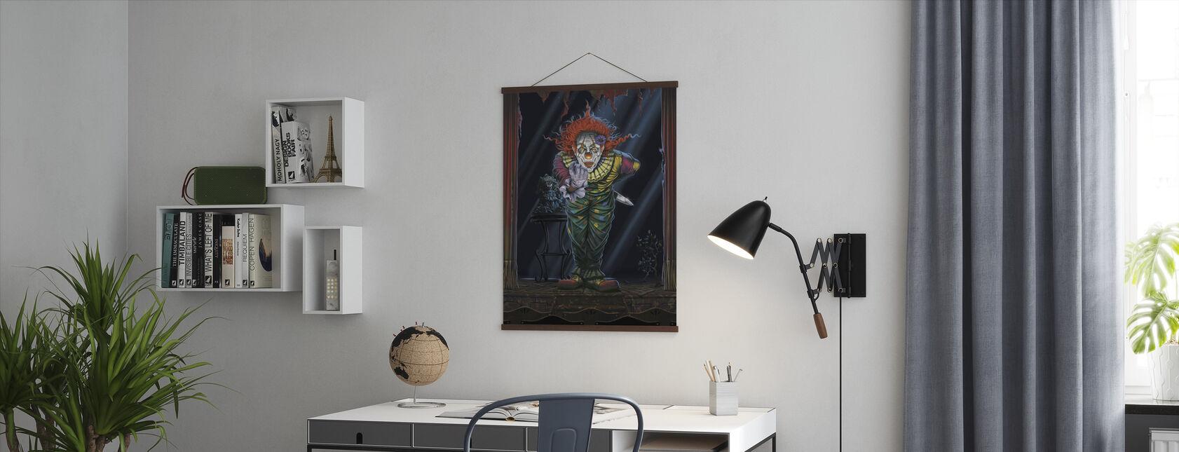 Överraskning clown - Poster - Kontor