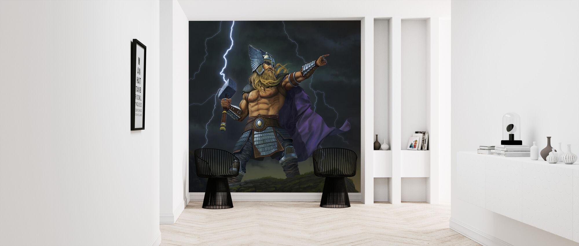 Thor Gott des Donners - Tapete - Flur