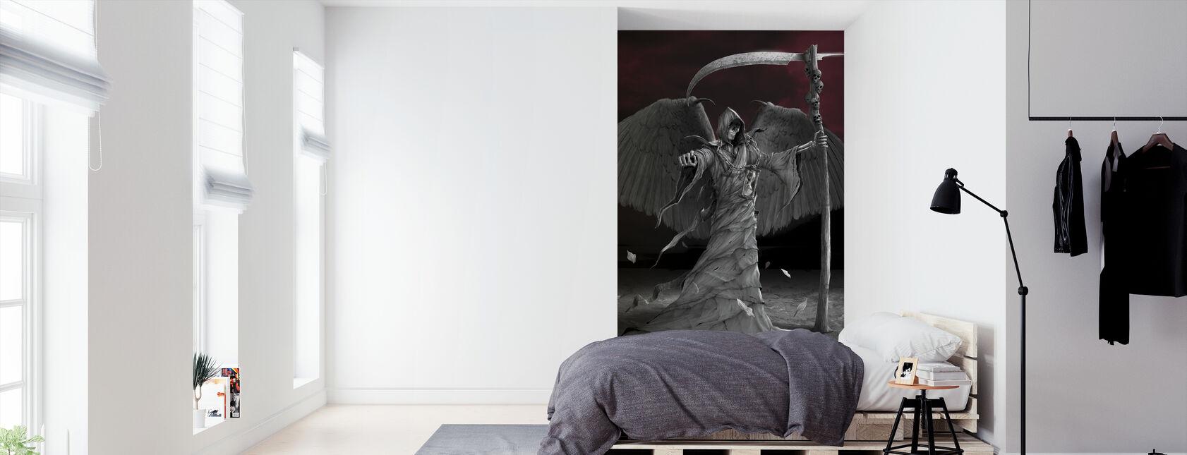 Time is Up - Wallpaper - Bedroom