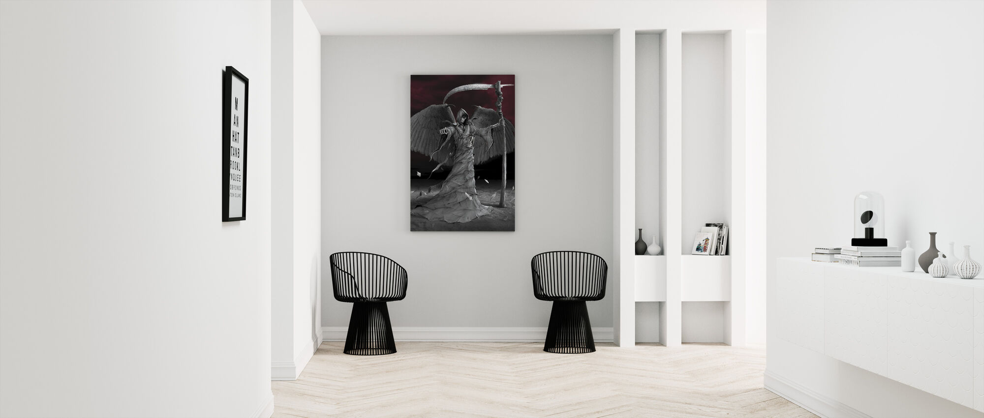 Time is Up - Canvas print - Hallway
