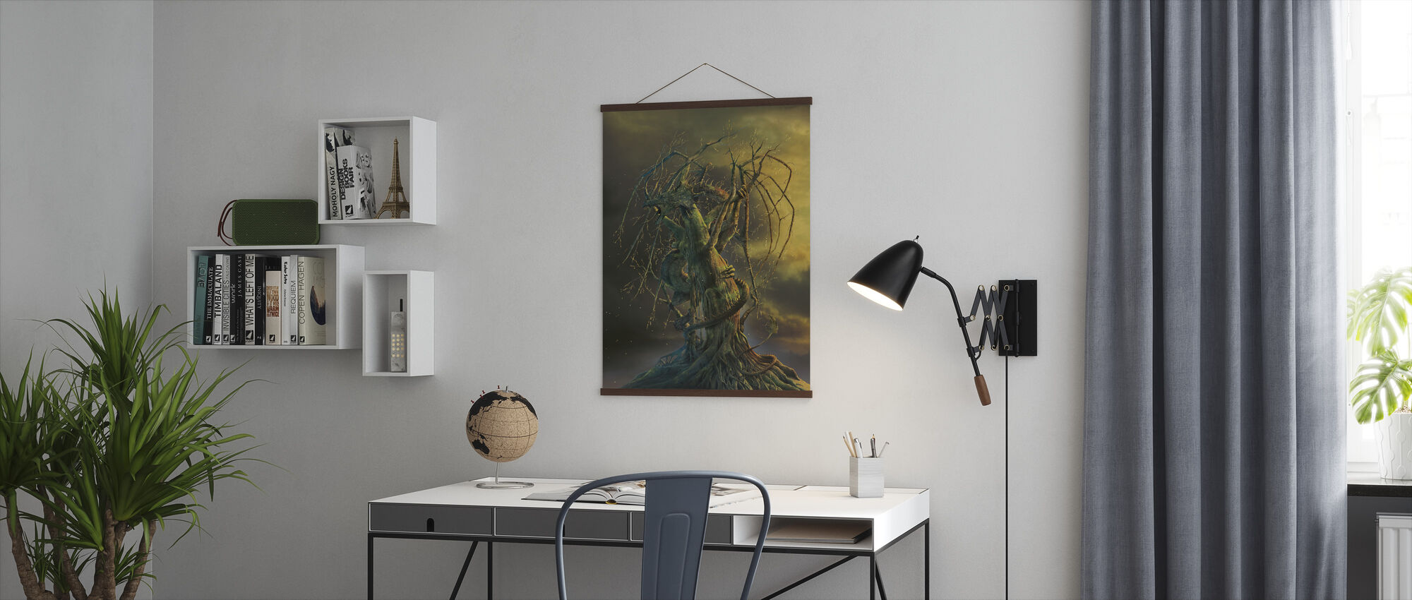 Tree Dragon - Poster - Office