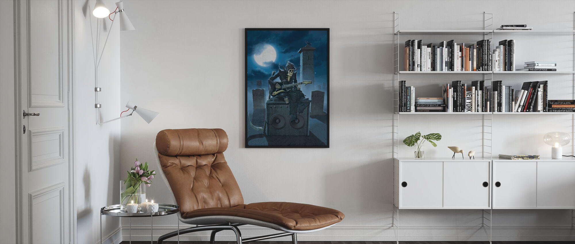 Tribute - Framed print - Living Room