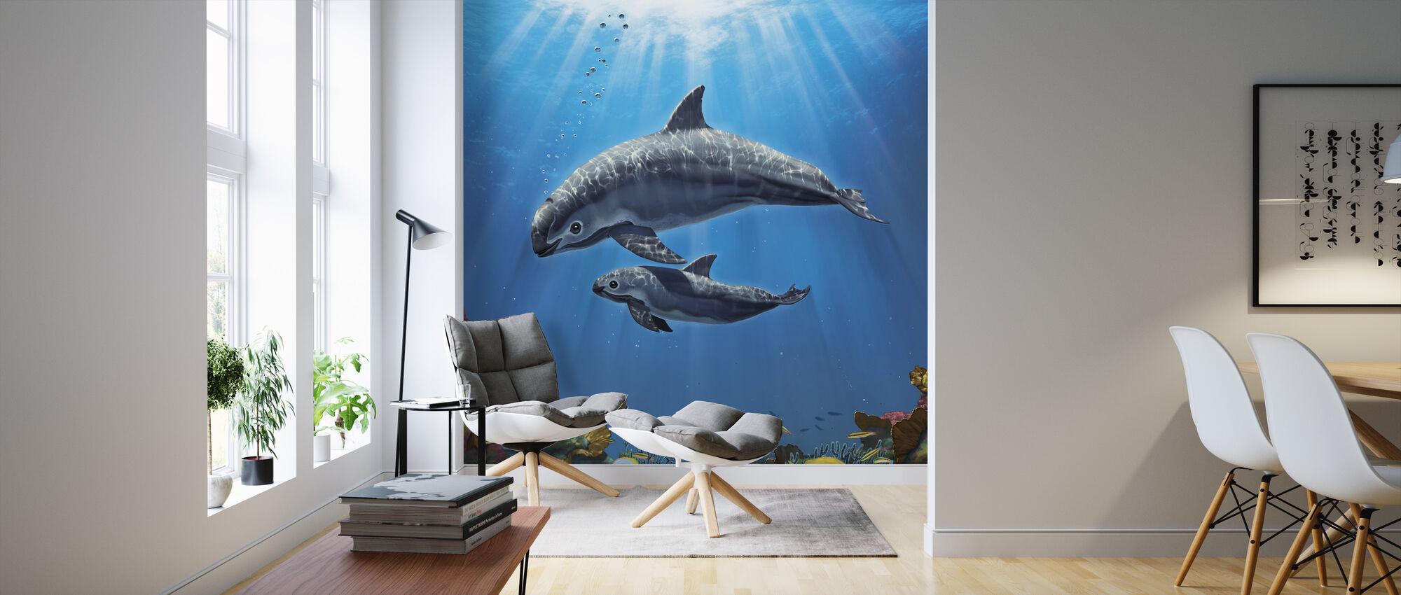 Vaquita Critically Endangered - Wallpaper - Living Room