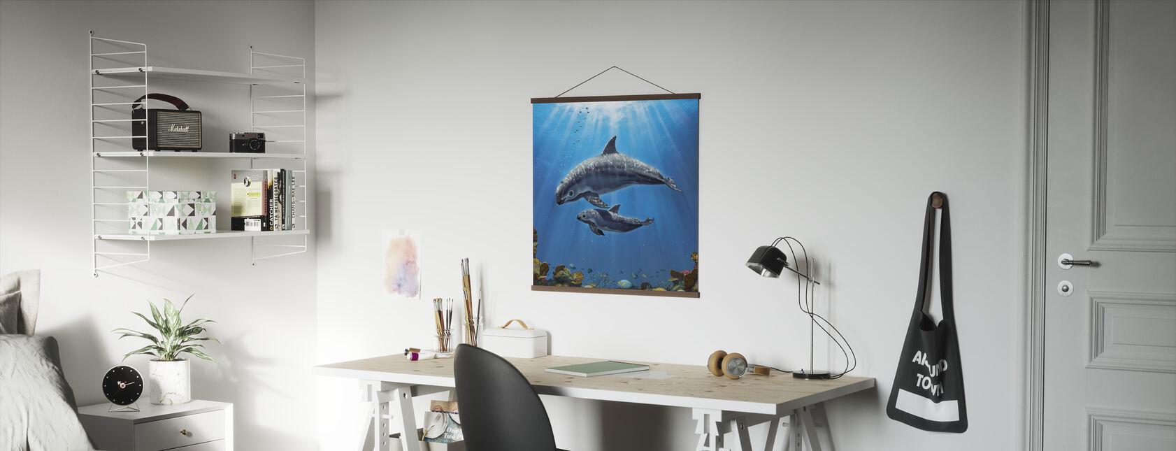 Vaquita Critically Endangered - Poster - Office