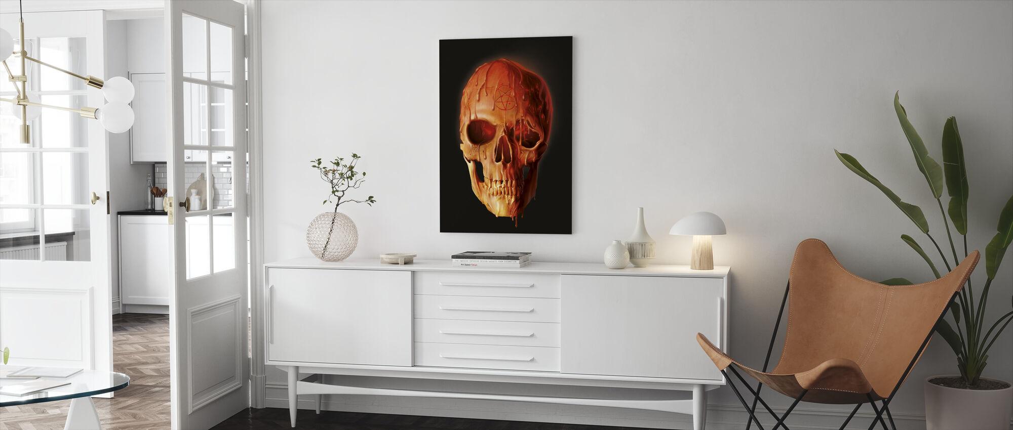Wax Schegel - Canvas print - Woonkamer