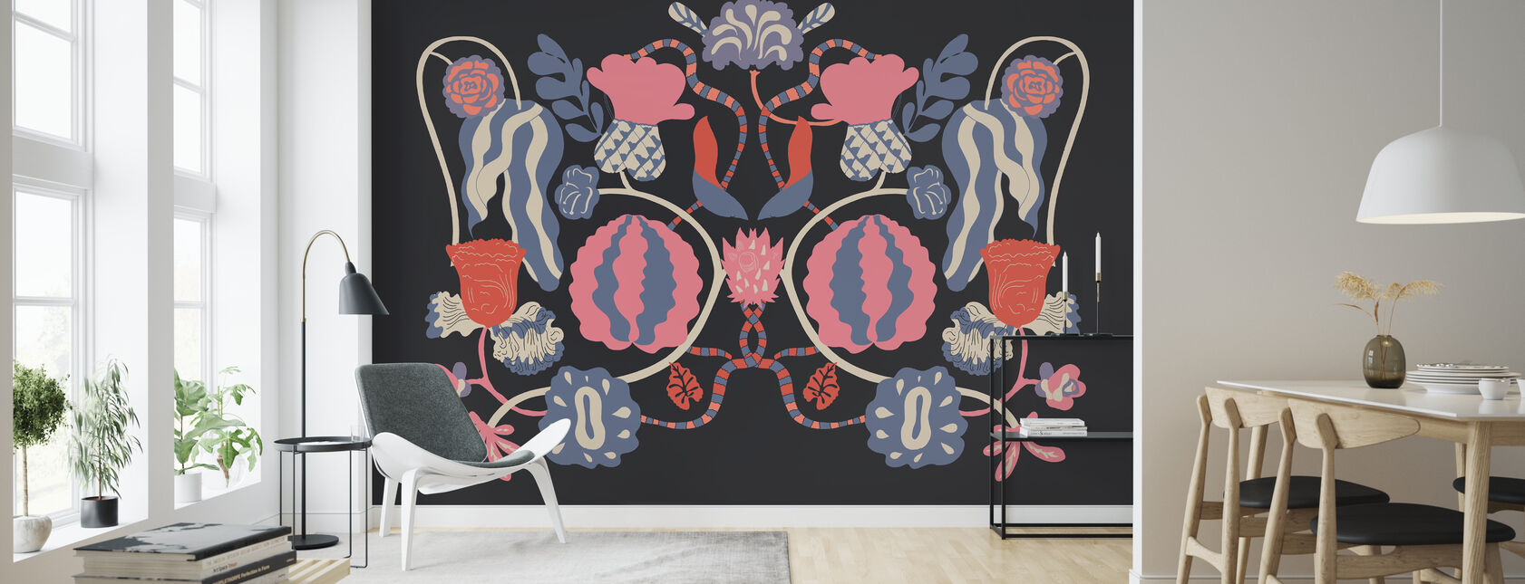 In Bloom - Wallpaper - Living Room