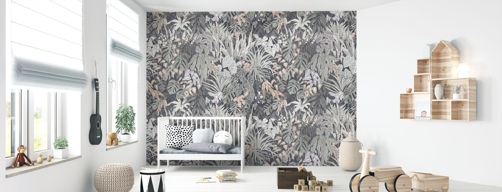 Tangelwood Forest - Silver Ash Large - Wallpaper - Nursery