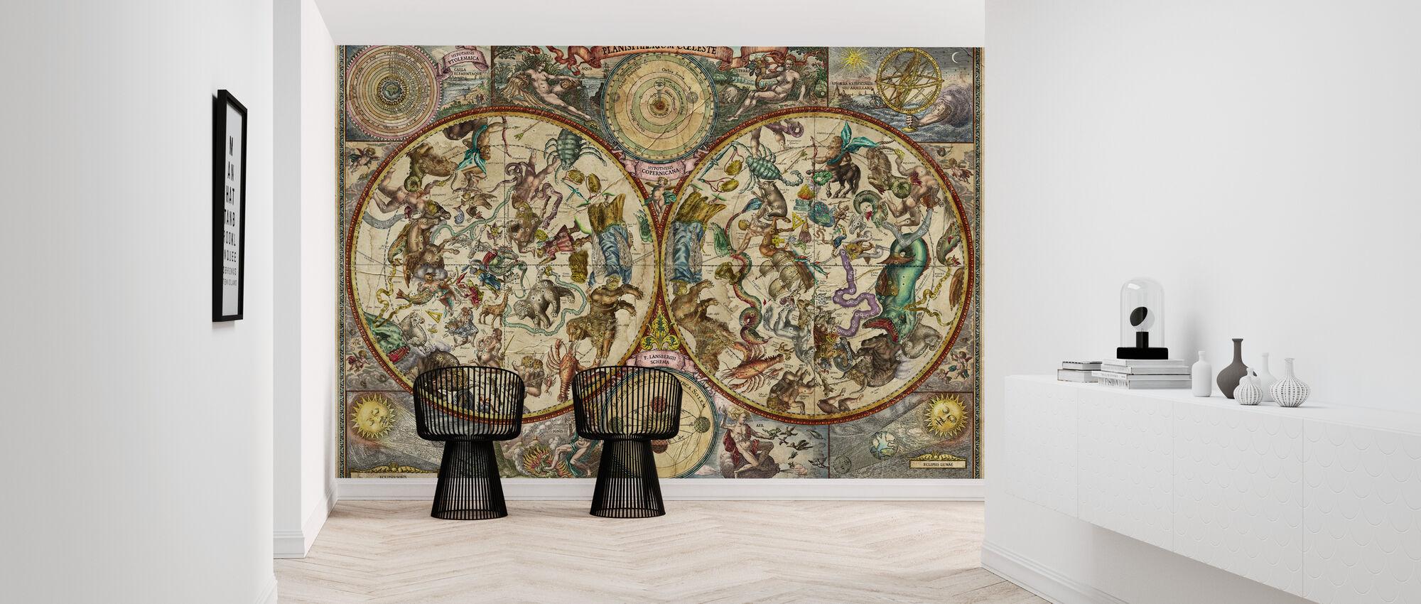 Celestial Map - Wallpaper - Hallway