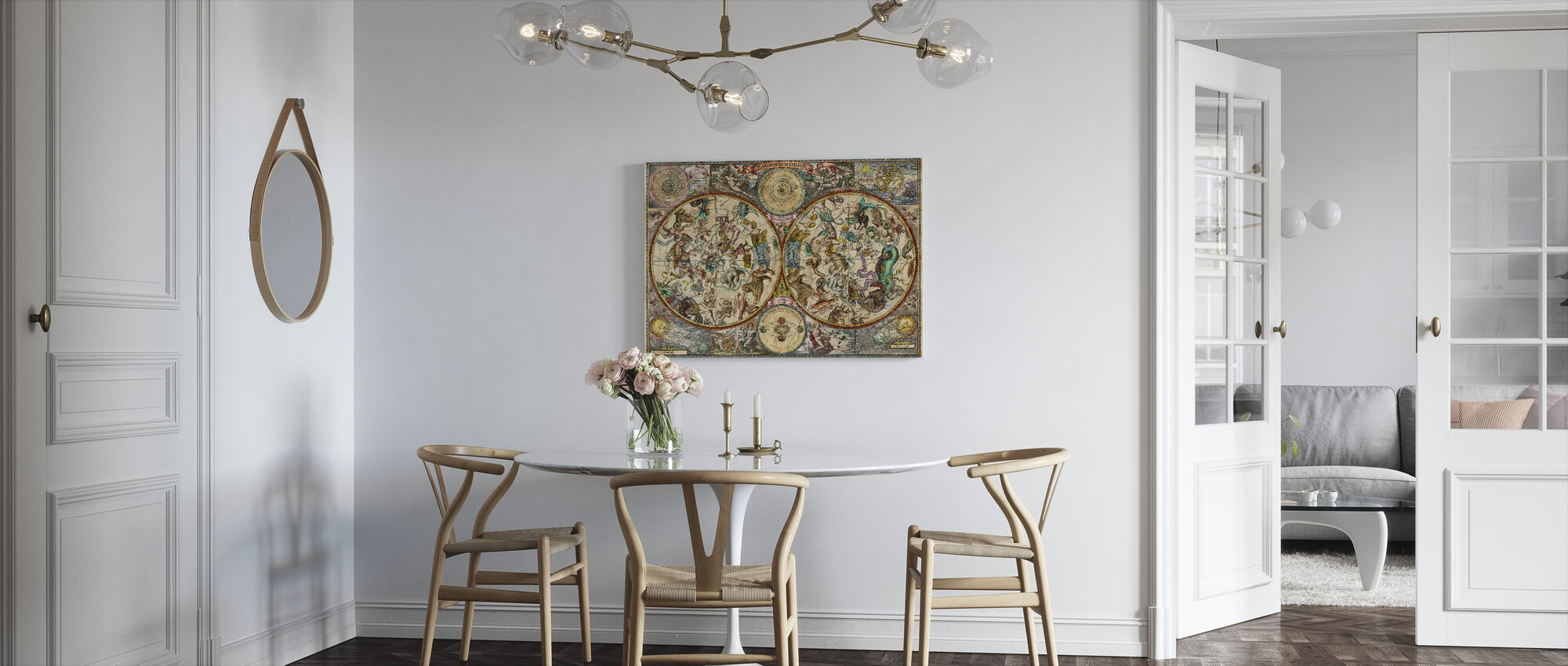 Celestial Map - Canvas print - Kitchen