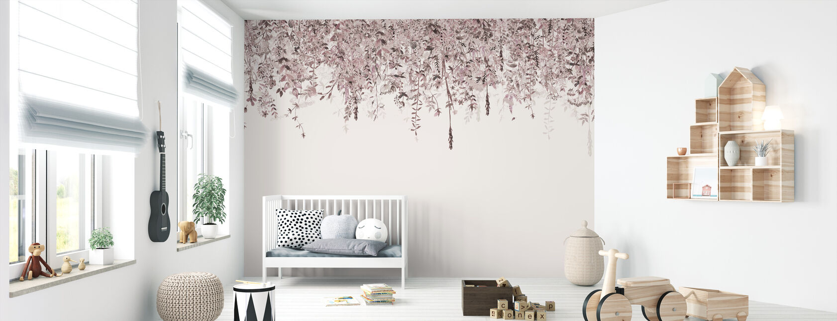 Enchanted Blush - Wallpaper - Nursery