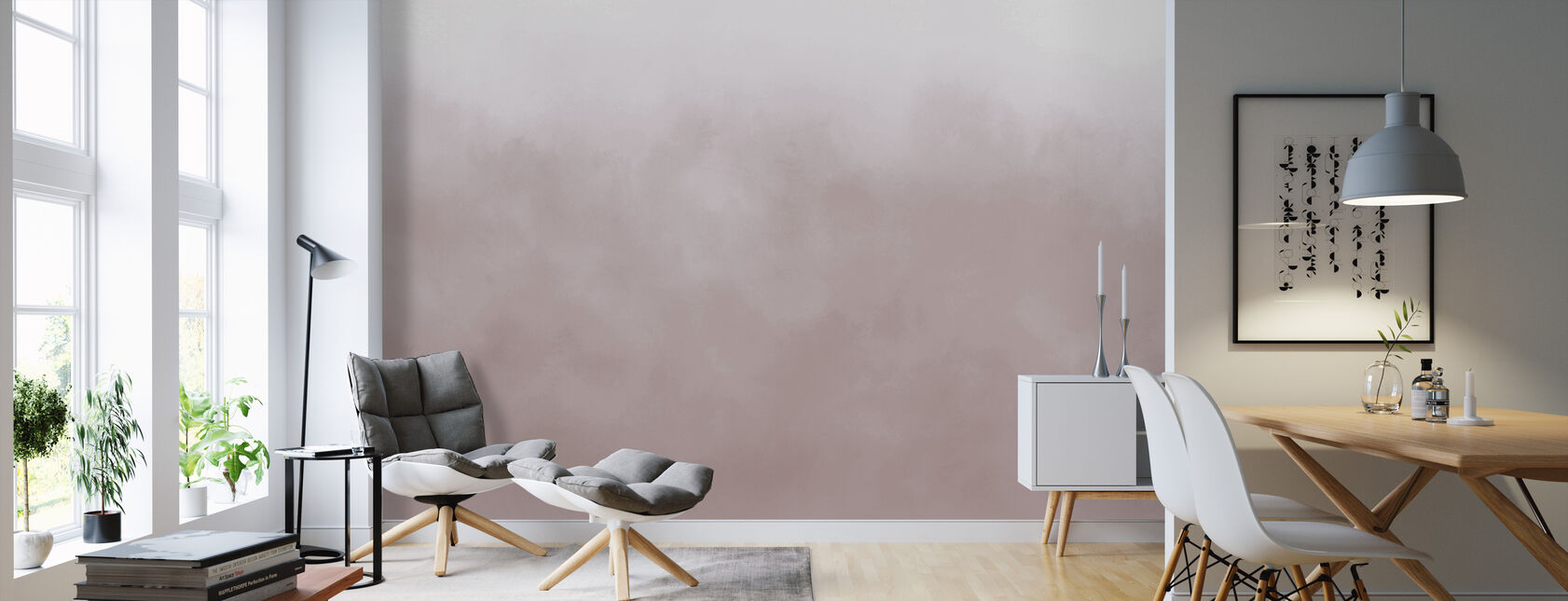Air - Morning Mist - Wallpaper - Living Room