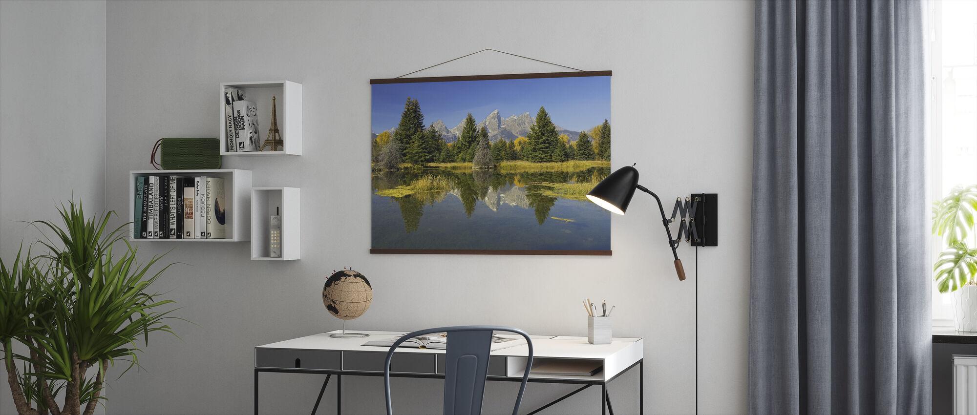 Beaver Pond - Poster - Office