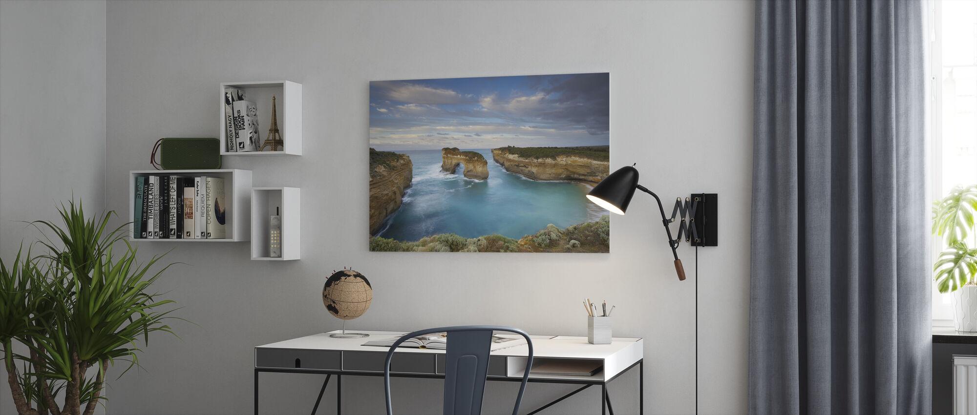 Loch Ard Gorge - Canvas print - Office