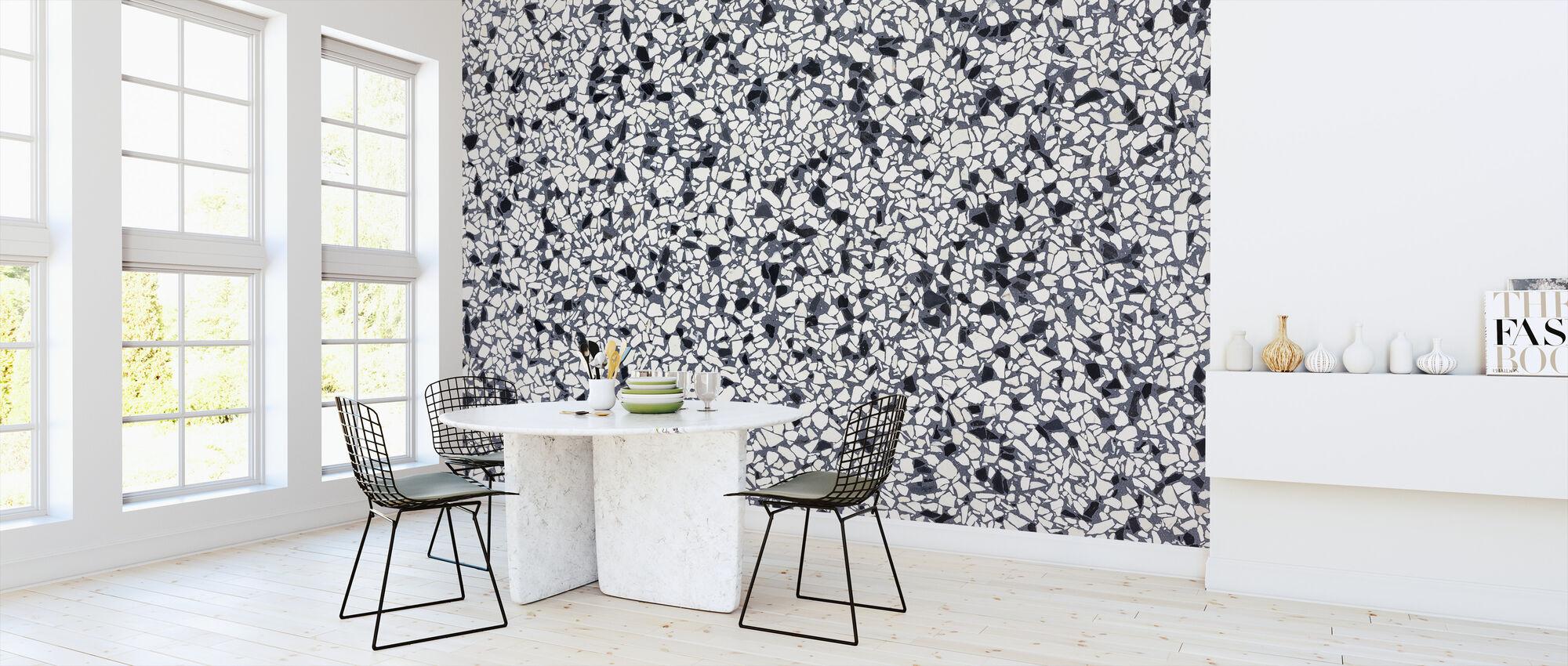 Classic Garden Terrazzo - Wallpaper - Kitchen
