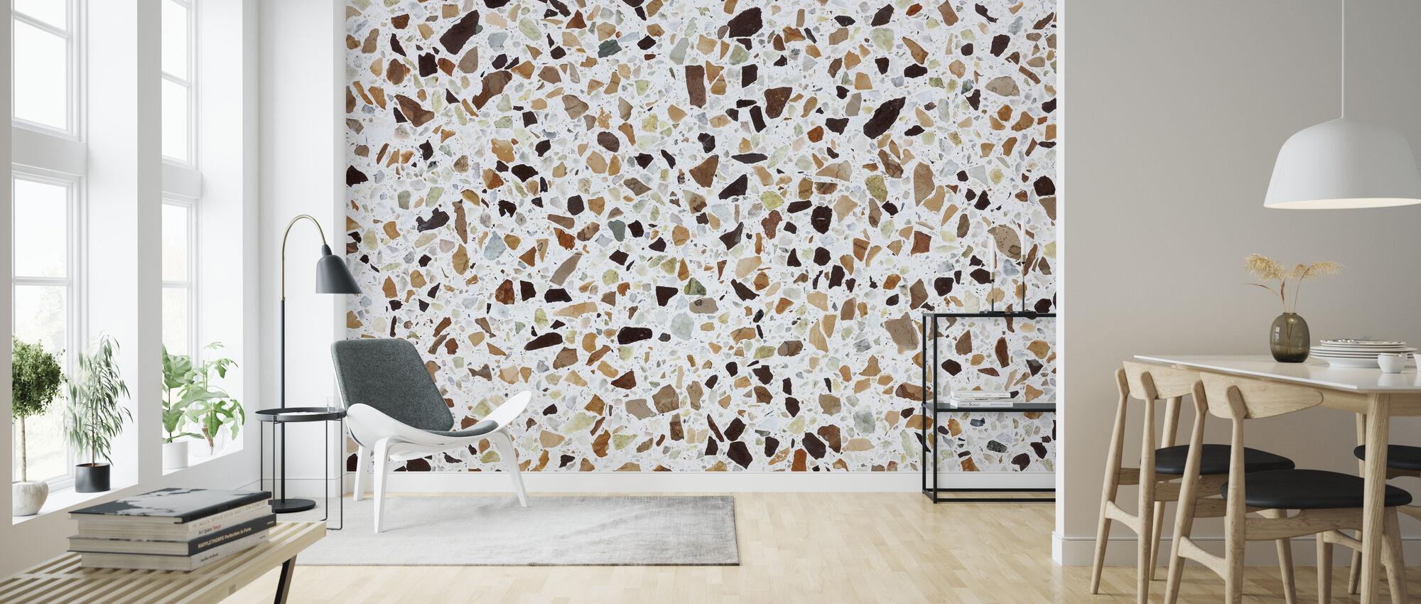 Classic Terrazzo Texturae - Wallpaper - Living Room