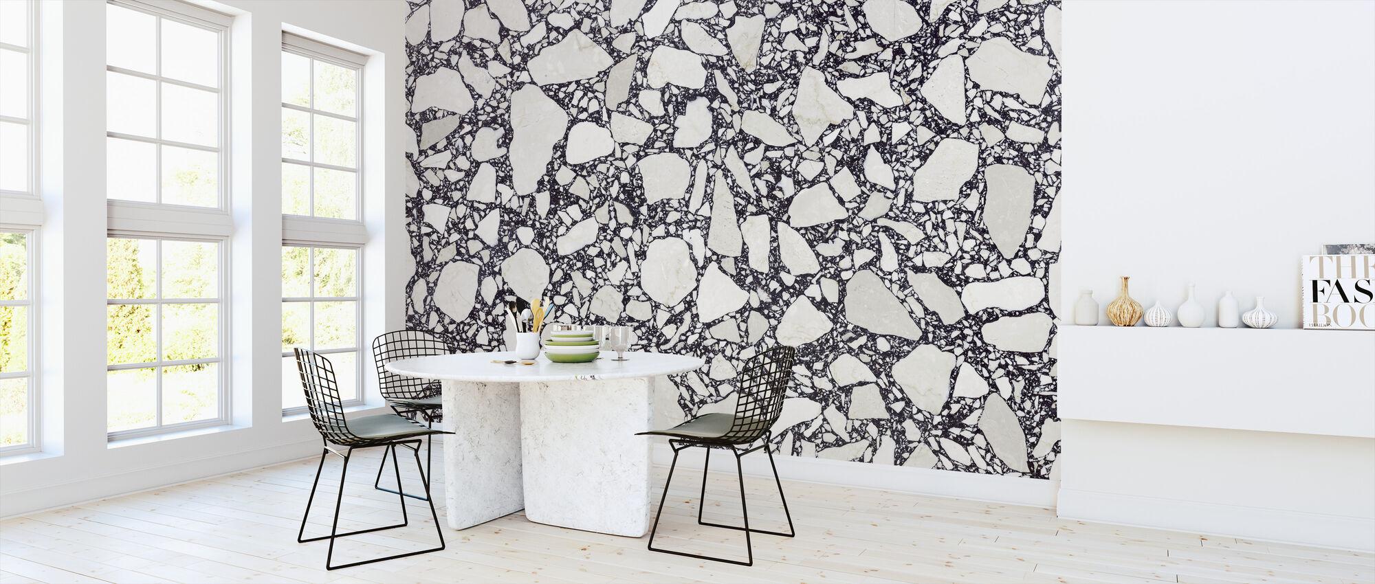 Elegant Terrazzo - Wallpaper - Kitchen
