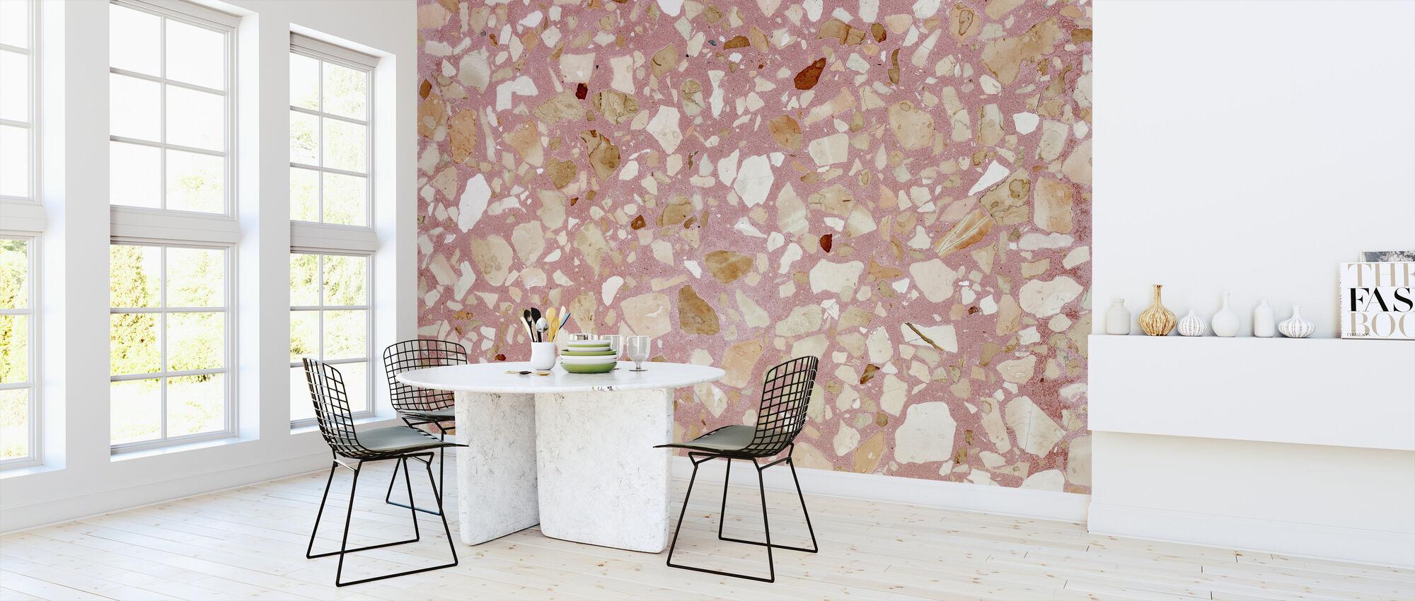 Pink Terrazzo Texturae - Tapete - Küchen