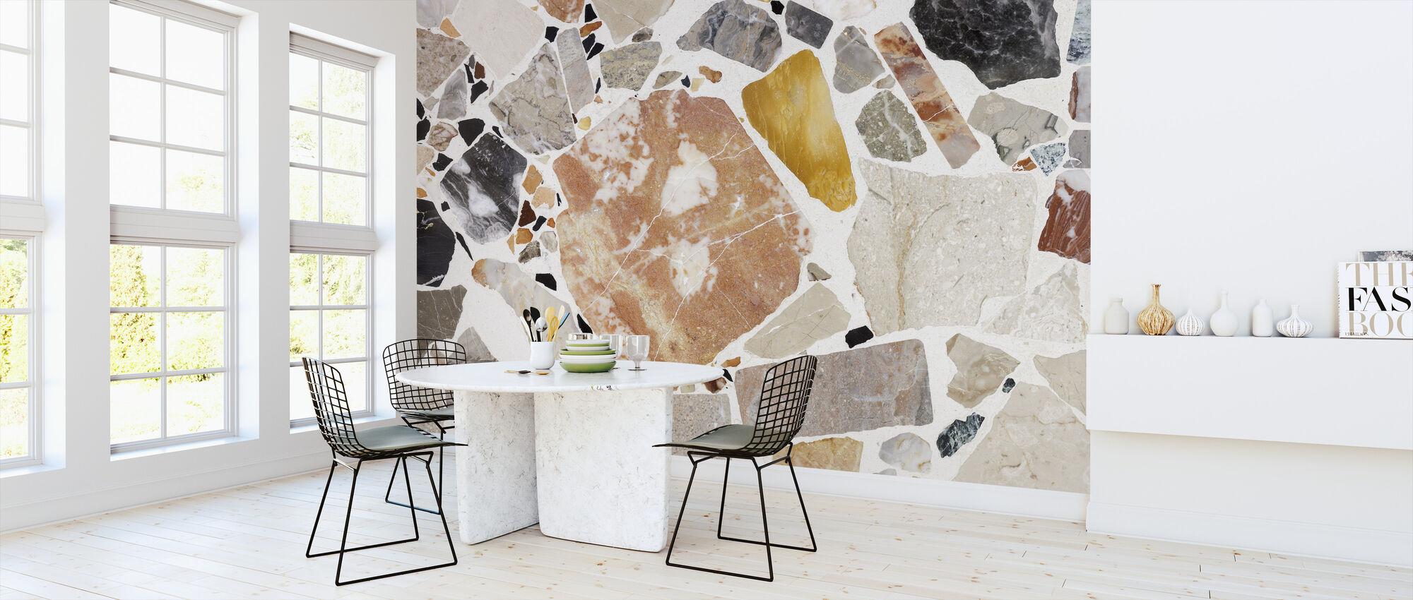 Varm Terrazzo - Wallpaper - Kitchen