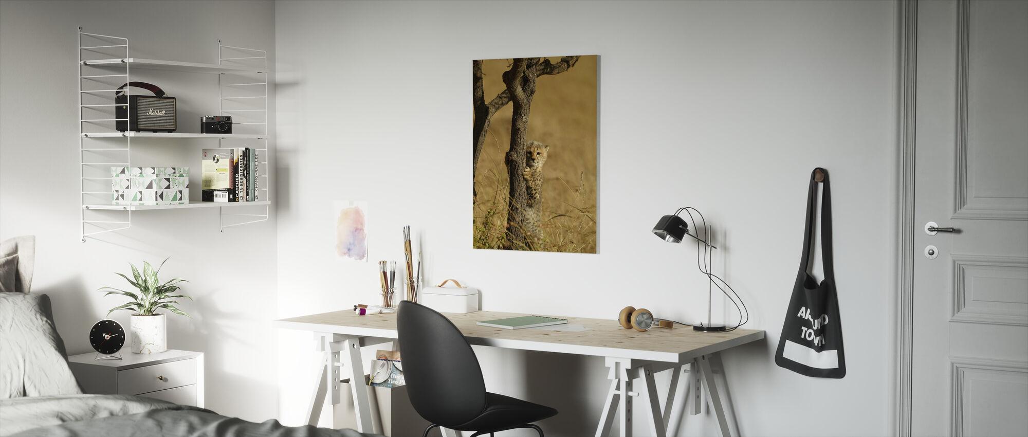 Cheetah Cub - Canvas print - Kids Room