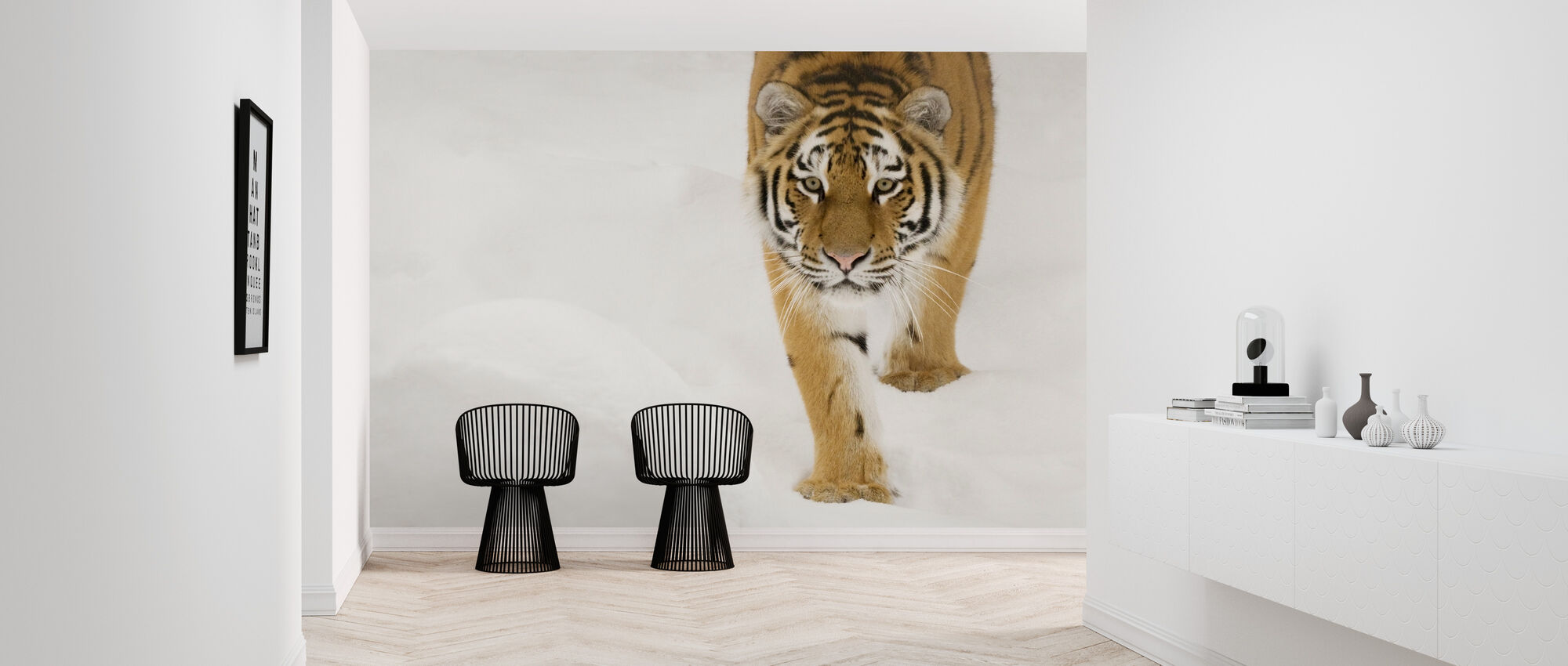 Siberian Tiger - Wallpaper - Hallway