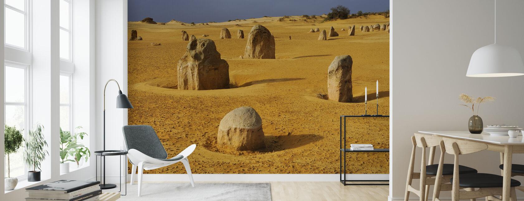 Limestone Formations - Wallpaper - Living Room