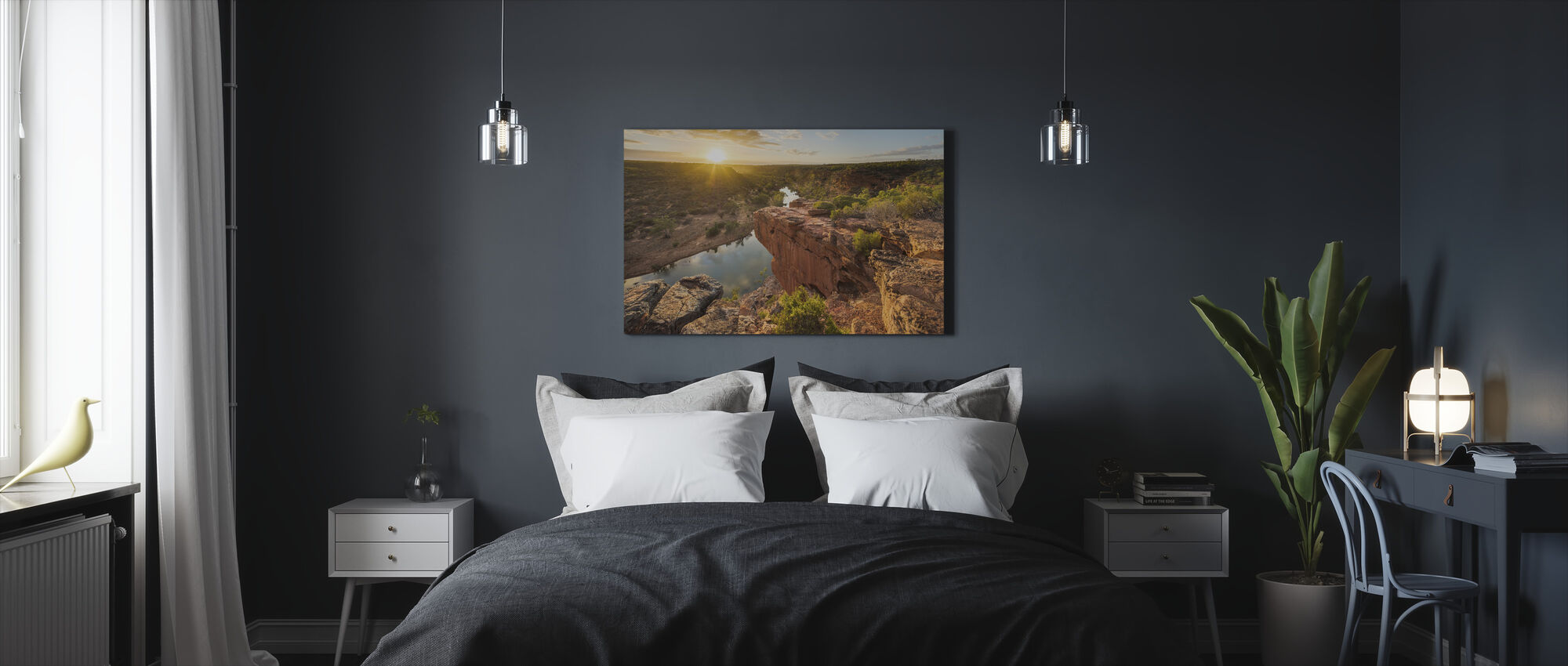 Hawk's Head Lookout - Canvas print - Bedroom