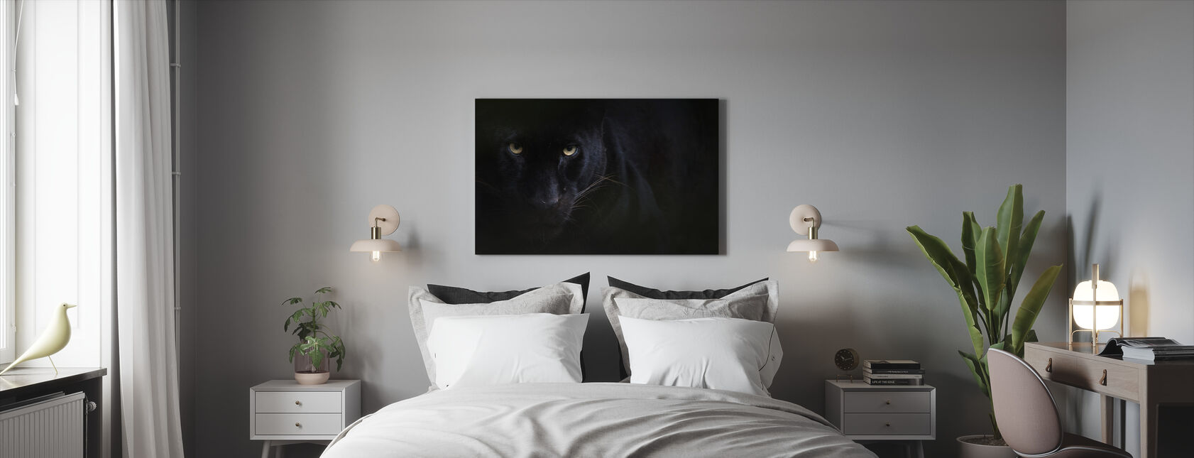 Black Panther - Canvas print - Bedroom