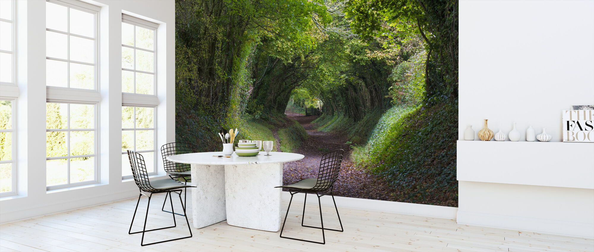 Tunnel of Trees - Wallpaper - Kitchen
