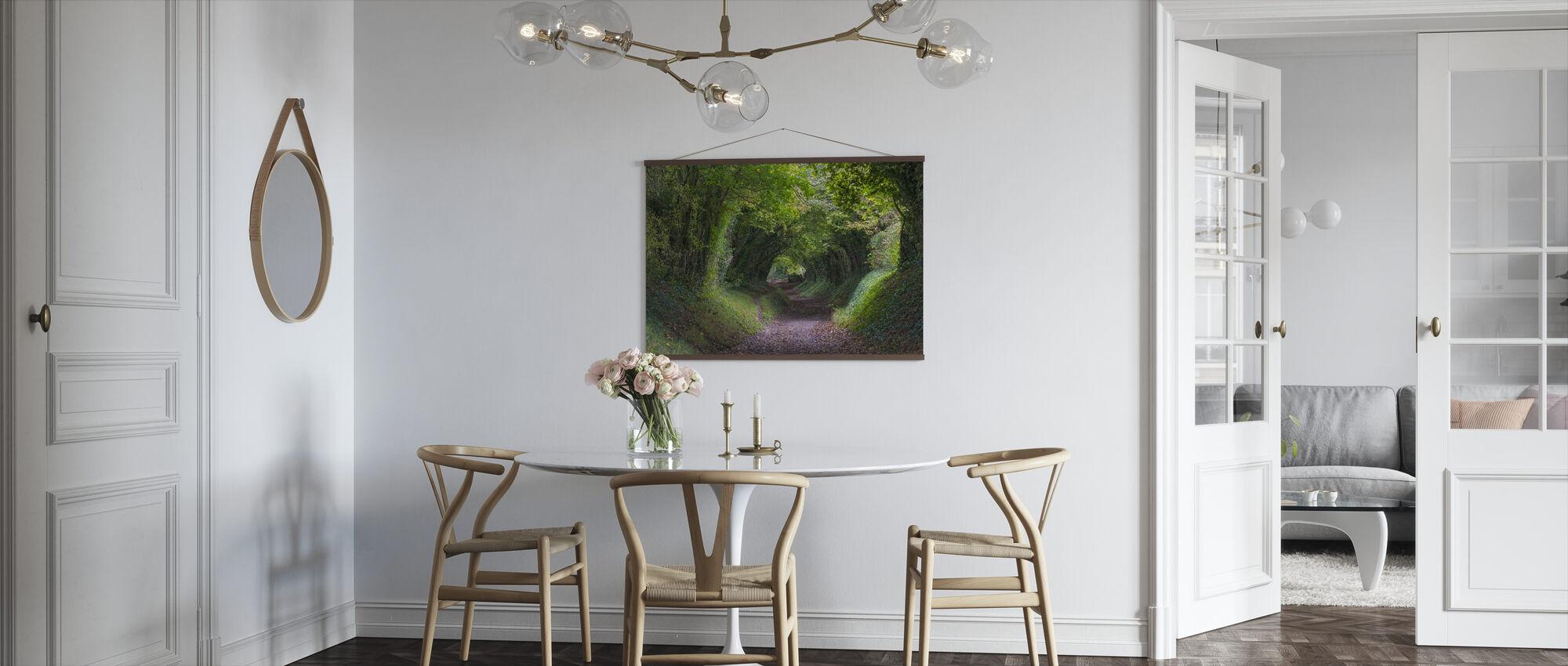 Tunnel av träd - Poster - Kök