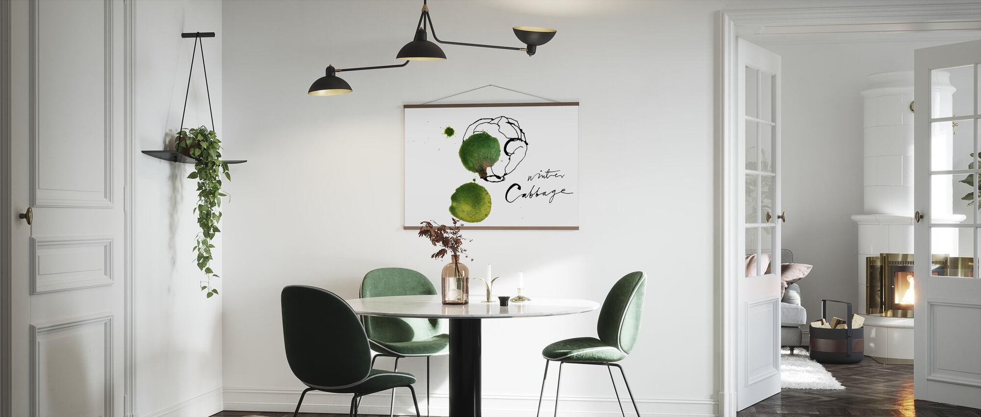 Cabbage - Poster - Kitchen