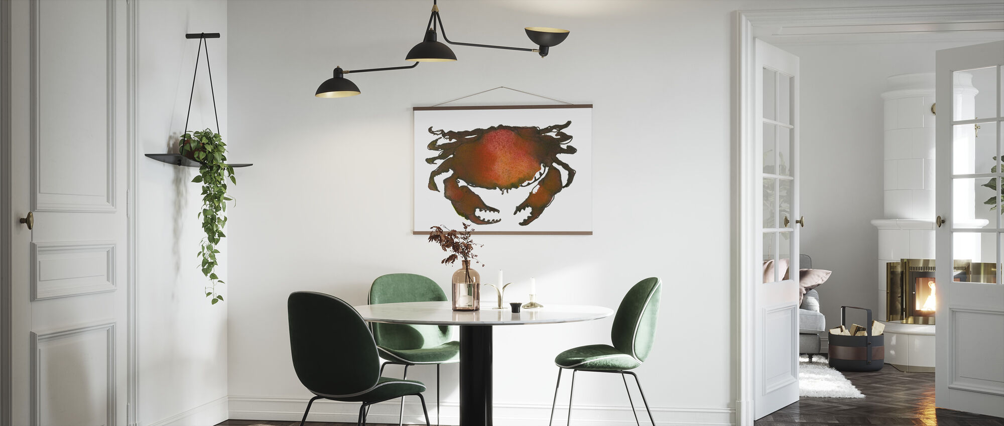 Crab - Poster - Kitchen