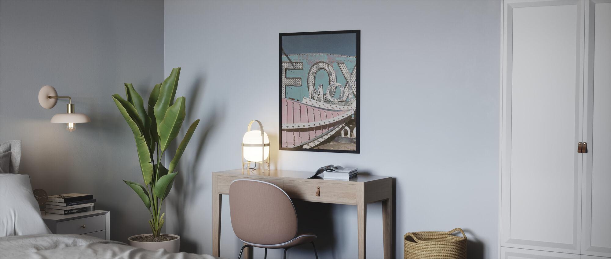 Old Sign - Framed print - Bedroom