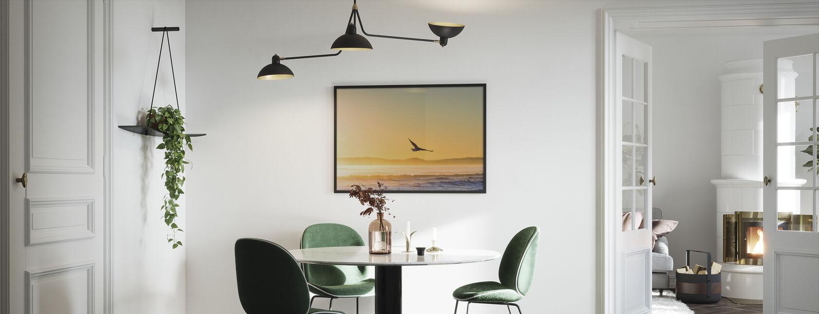 Flying Gull - Framed print - Kitchen