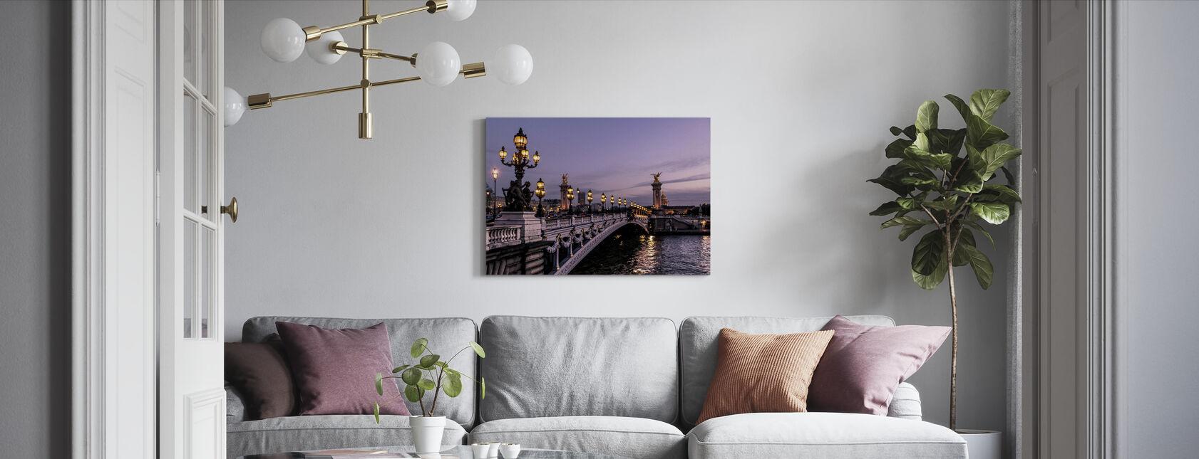 Bridge - Canvas print - Living Room