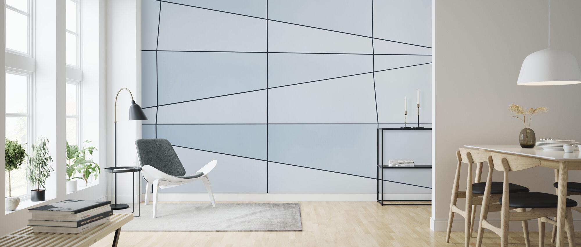 Lines - Wallpaper - Living Room