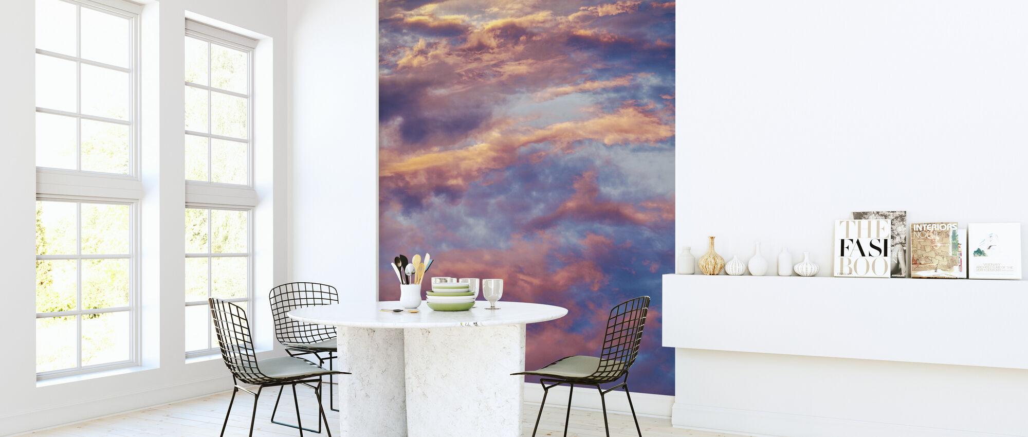 Engelenwolken - Behang - Keuken