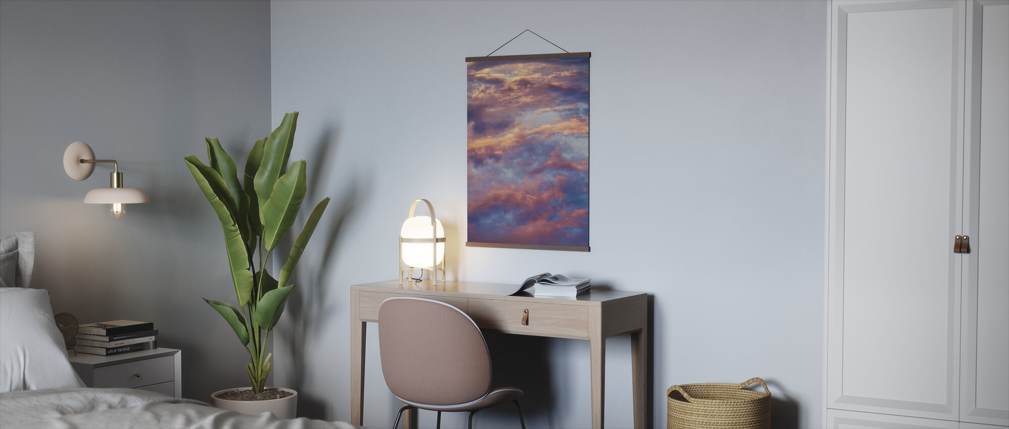 Angelic Clouds - Poster - Office