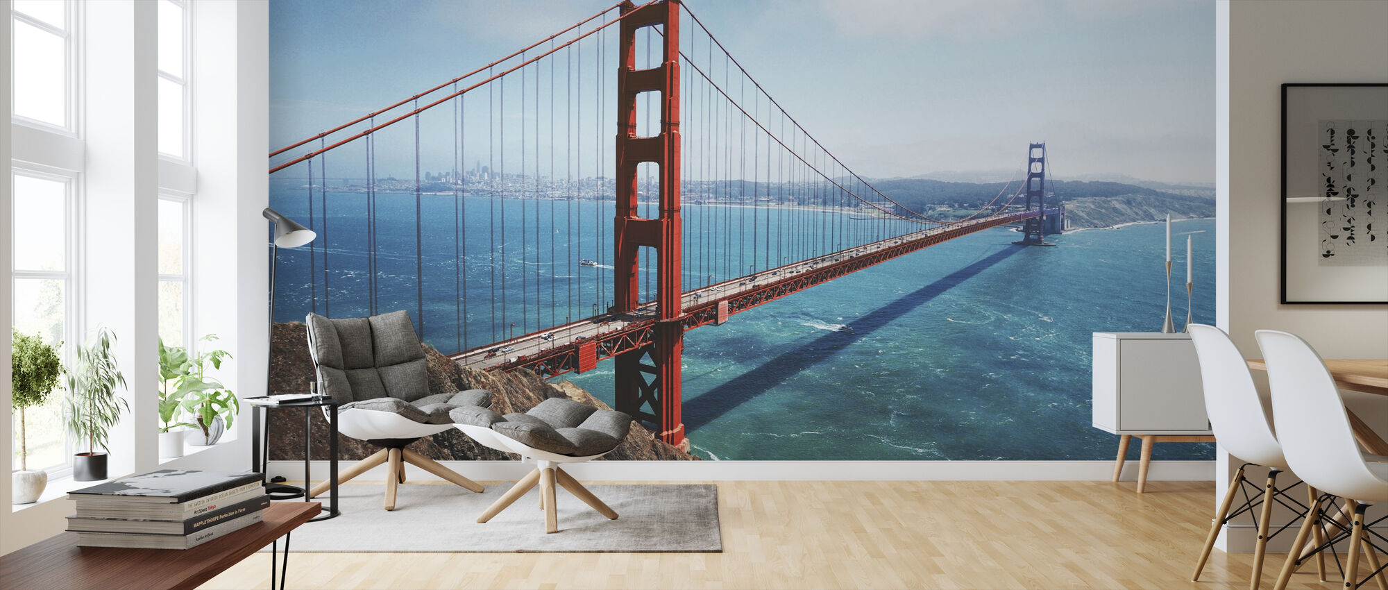 Golden Gate -silta - Tapetti - Olohuone