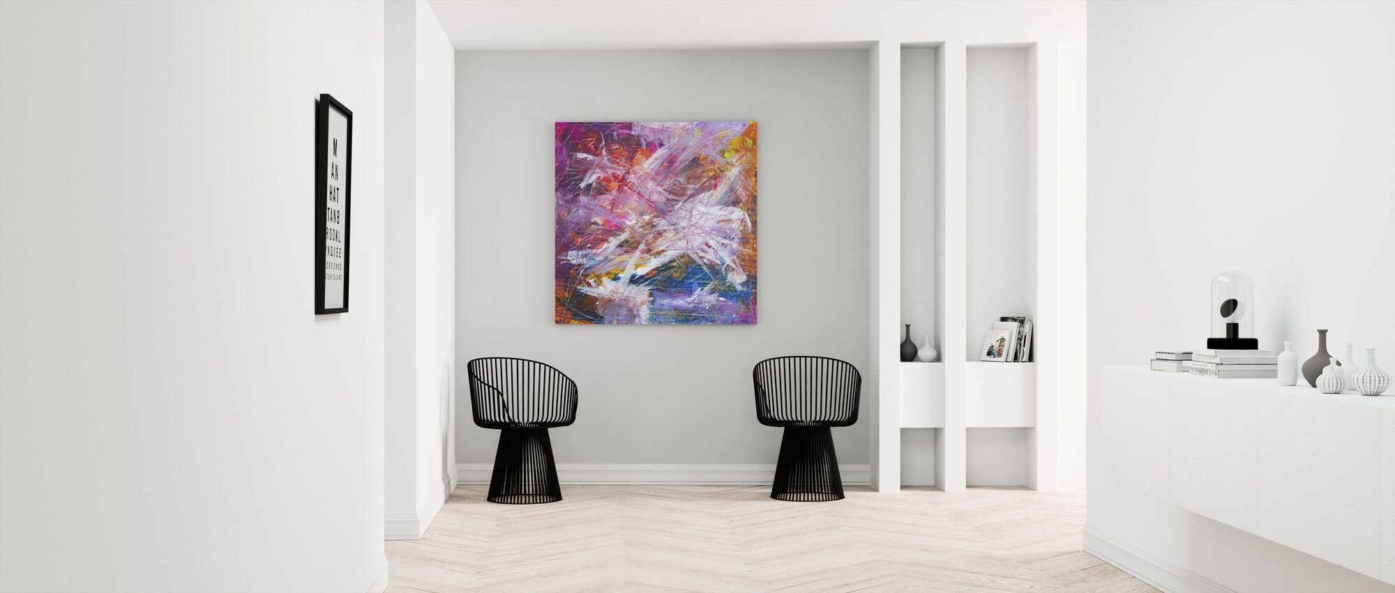 Abstract Painting - Canvas print - Hallway