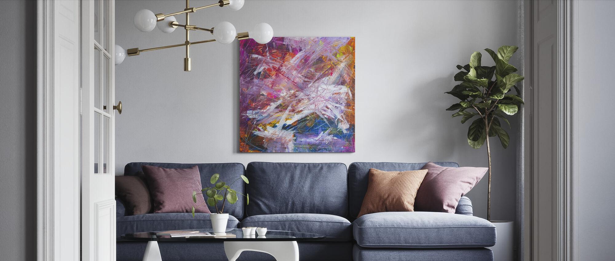 Abstrakt maleri - Lerretsbilde - Stue