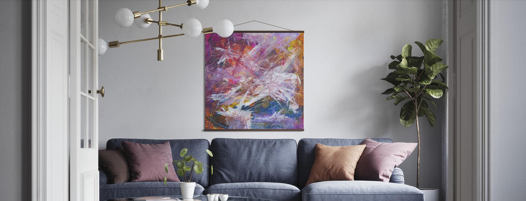 Abstrakt målning - Poster - Vardagsrum