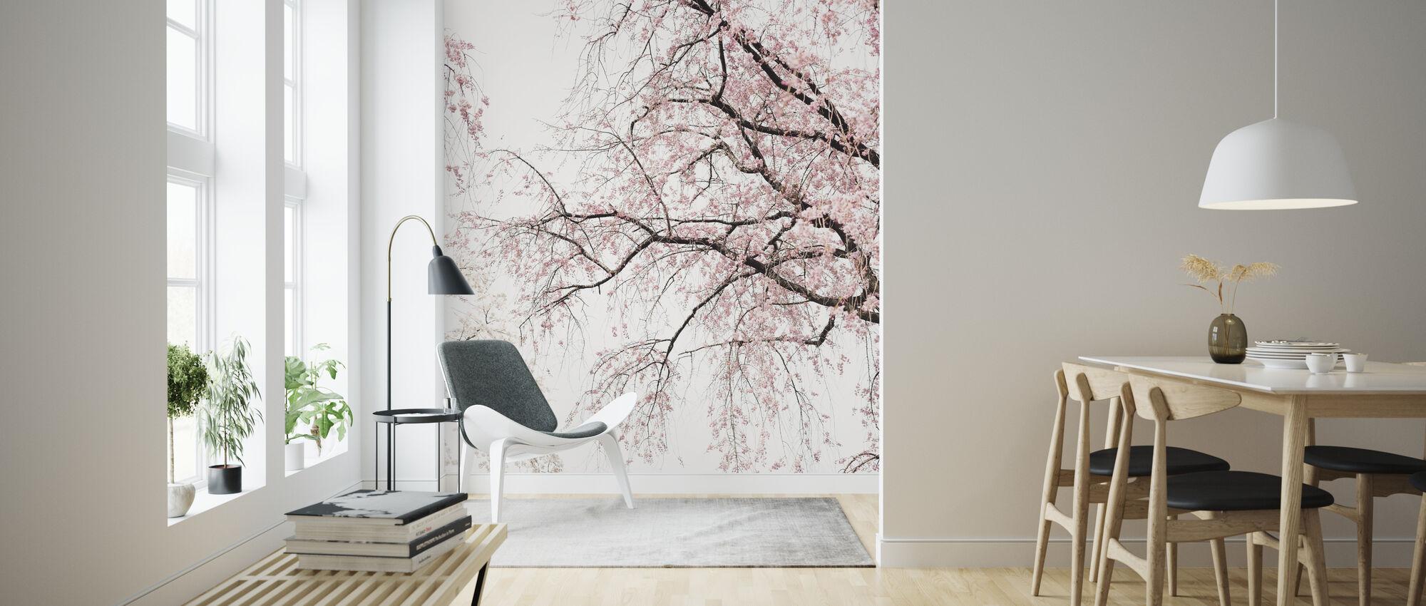Kersenbloesems - Behang - Woonkamer