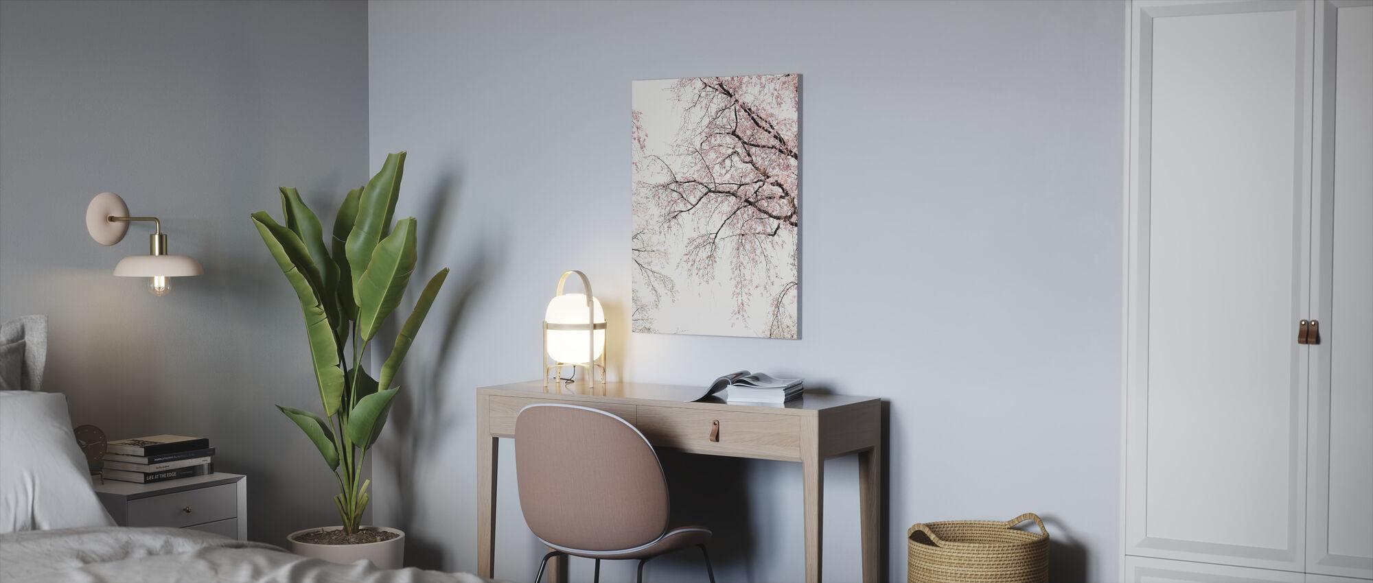 Kersenbloesems - Canvas print - Kantoor