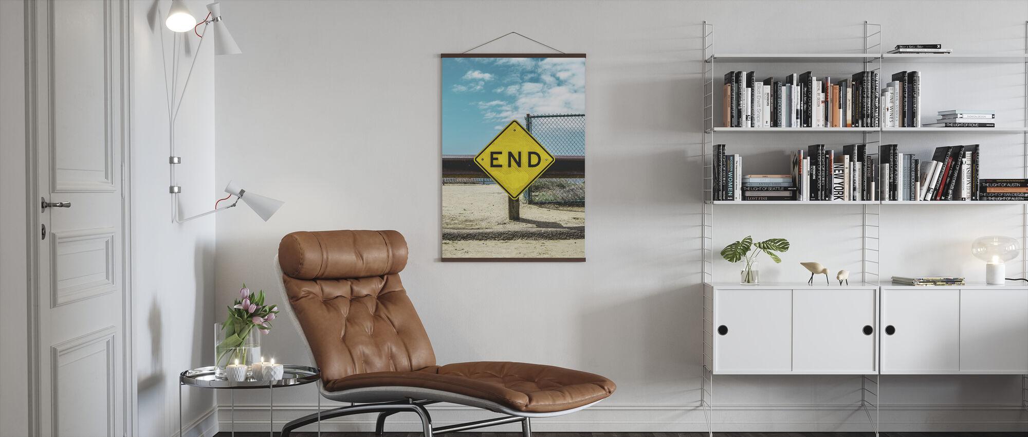 Avslutt Sign - Plakat - Stue